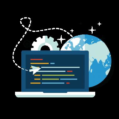 developpement web, création site web